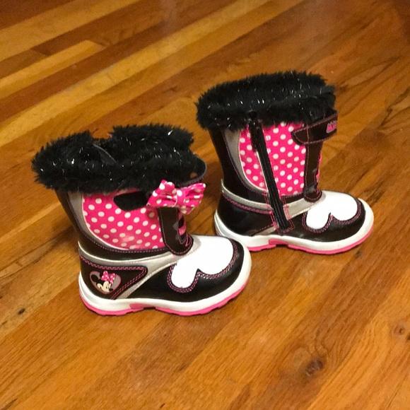 latest collection moderate price laest technology Disney Minnie Mouse winter boots